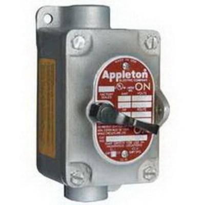 Appleton EDSC1129 Appleton EDSC1129 Contender® Factory Sealed Tumbler Switch; 1 Pole, 120/277 Volt AC, 20 Amp
