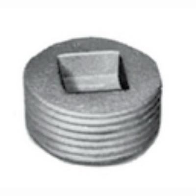 Appleton PLG-125A Appleton PLG-125A Unilets® Recessed Head Close-Up Plug; 1-1/4 Inch, Tapered MNPT, Aluminum