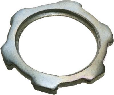 Arlington Fittings 404 Arlington 404 Plated Steel Conduit Locknut; 1 1/4 In