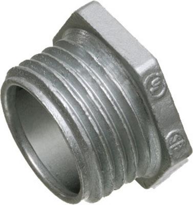 Arlington Fittings 501 Arlington 501 Die-Cast Zinc Conduit Nipple; 1/2 In