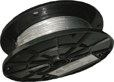 Arlington Fittings BW580 Arlington BW580 Braided Support Wire; 0.080 Inch Dia x 500 ft Length, Galvanized