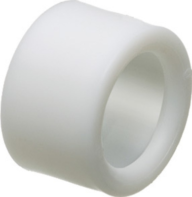 Arlington Fittings EMT100 Arlington EMT100 Plastic Push-On Press-On Insulated Bushing; White, 1 Inch
