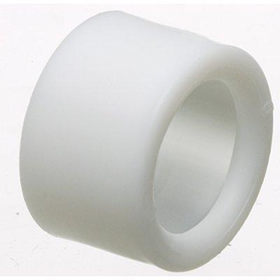 Arlington Fittings EMT400 Arlington EMT400 Plastic Press-On Insulated Bushing; White, 4 Inch
