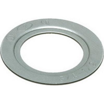 Arlington Fittings RW33 Arlington RW33 Reducing Washer; 5 Inch Dia x 0.060 Inch Length, Plated Steel