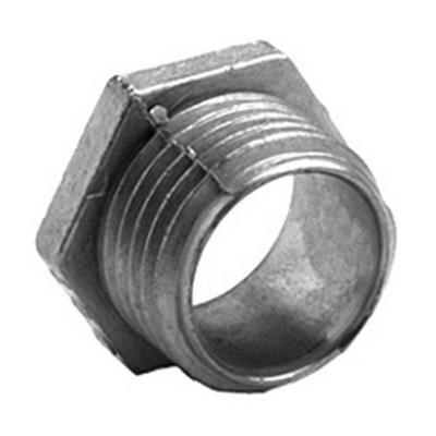 Bridgeport 1102-DC Bridgeport 1102-DC Non-Insulated Conduit Nipple, 1/2 inch, 1 inch, Zinc Die-Cast, Ball Burnished/Mirror Smooth