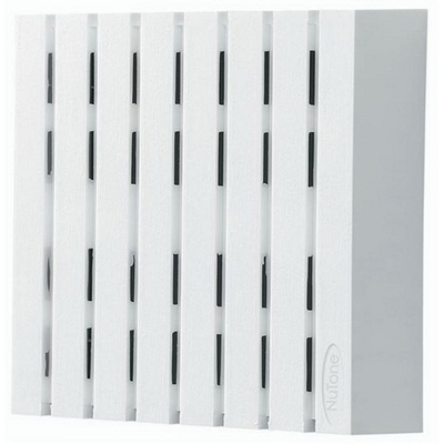 Broan Nu-Tone LA18WH Broan Nu-Tone LA18WH Wired Door Chime; 7-7/8 Inch Length x 2-1/2 Inch Width x 8 Inch Height, Plastic, White