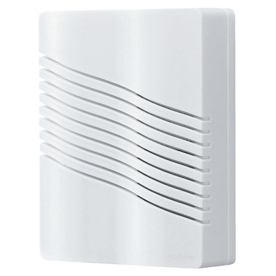 Broan Nu-Tone LA226WH Broan Nu-Tone LA226WH Wireless Door Chime Kit; Plastic, White, Wall Mount