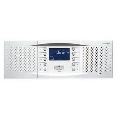 Broan Nu-Tone NM100WH Broan Nu-Tone NM100WH Master Station Intercom; 15.250 Inch Width x 3.250 Inch Depth x 5.3125 Inch Height, White