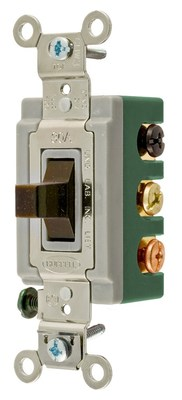 Bryant Electric Co 3025BRN Bryant Electric 3025BRN Switch Tog DpDt 30A 120277V Br
