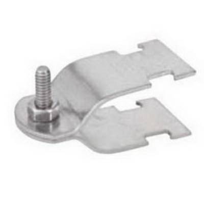 Calpipe Conduit Products S63000SC00 CalConduit S63000SC00 Calbrite™ Strut Clamp; 3 Inch, 0.105 Inch 316 Stainless Steel, Bright