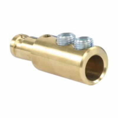 Cooper Crouse-Hinds A200639-1 Cooper Crouse-Hinds A200639-1 E1016/EZ1018 Cam-Lok® Non-Vulcanized Male Plug Contact; 400 Amp, 600 Volt, Double Set Screw, Brass