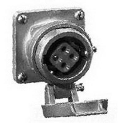 Cooper Crouse-Hinds AR1042S22 Cooper Crouse-Hinds AR1042-S22 Arktite® Receptacle Housing; 100 Amp, 600 Volt AC/250 Volt DC, 4-Pole, 3-Wire, Pressure, Natural