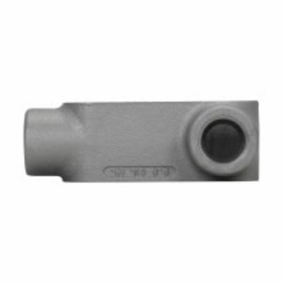 Cooper Crouse-Hinds L57 Cooper Crouse-Hinds L57 Condulet® Type L Conduit Outlet Box; 1-1/2 Inch Hub, NEMA 3R, Electro Galvanized Cast Iron