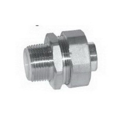 Cooper Crouse-Hinds LTB75SS Cooper Crouse-Hinds LTB75SS Straight Insulated Liquidtight Connector; 3/4 Inch, 304 Stainless Steel, MNPT