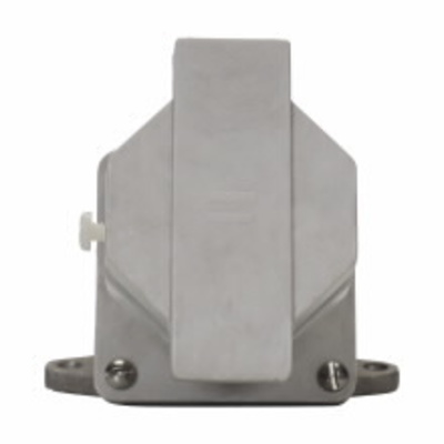 Cooper Crouse-Hinds NRE3422 Cooper Crouse-Hinds NRE3422 Arktite® Receptacle Assembly; 30 Amp, 600 Volt, 4-Pole, 3 Wire, Krydon Fiberglass Reinforced Polyester Receptacle, Copper-Free Aluminum Back Box