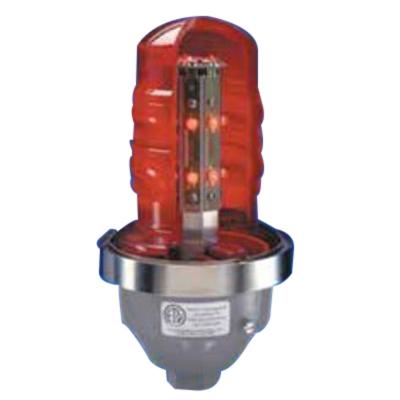 Cooper Crouse-Hinds OWLFSR/24 Cooper Crouse-Hinds OWLFSR/24 Single Fixture Obstruction Light; 24 Volt DC, 0.92 Amp, Red
