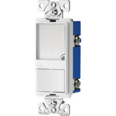 Cooper Wiring Devices 7738W-BOX Cooper Wiring 7738W-BOXHeavy Duty Grade Single Pole Switch with LED Night Light; 1 Watt, White