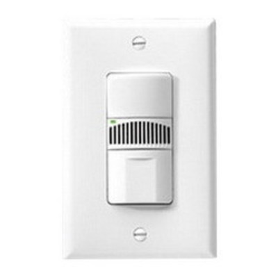 Cooper Wiring Devices OSD10N-V Cooper Wiring OSD10N-V Arrow Hart™ Dual Technology Occupancy Sensor; 120/277 Volt, 300 Sq ft (Minor Motion), 1000 Sq ft (Major Motion), Automatic ON/Manual ON, Ivory, NEMA Wallbox Mount