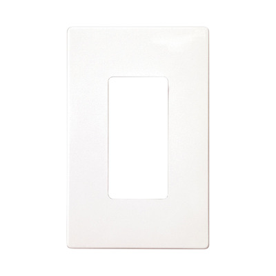 Cooper Wiring Devices PJS26W-SP Cooper Wiring Devices PJS26W-SP Wallplate 1G Deco Screwless Poly Mid WH 4751042