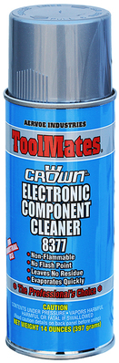 Dottie Co L.h. 8377 Aervoe-Pacific 8377 Electronic Component Cleaner; 16 oz Aerosol Can, Transparent