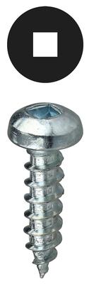 Dottie Co L.h. DDSMS83 L.H. Dottie DDSMS83 Invincibox™ Square Pan Head Screw; #8, 3 Inch Length, Zinc-Plated