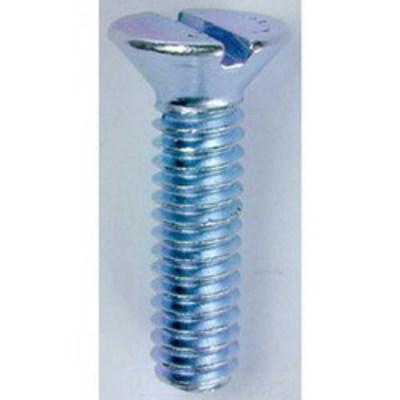 Dottie Co L.h. FM10321 L.H. Dottie FM10321 Invincibox™ Slotted Flat Head Machine Screw; #10-32, 1 Inch Length, Zinc-Plated