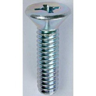 Dottie Co L.h. FMDD10321 L.H. Dottie FMDD10321 Invincibox™ Square/Phillips Flat Head Machine Screw; #10-32, 1 Inch Length, Zinc-Plated