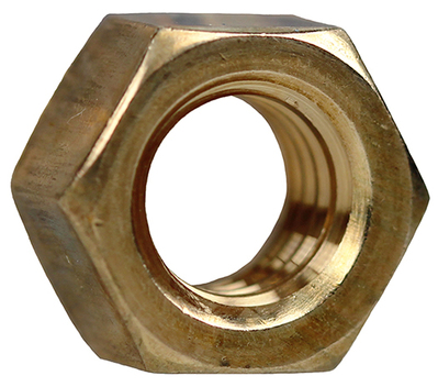 Dottie Co L.h. HNBZ12 L.H. Dottie HNBZ12 Finished Hex Nut; 1/2-13, Silicon Bronze