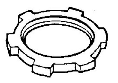 Dottie Co L.h. LNS50 LNS50 DOTTIE 1/2 SEALING LOCKNUTS ( STEEL )