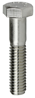 Dottie Co L.h. MBS14112 MBS14112 DOTTIE 1/4 X 1-1/2 HEX HEAD CAP SCREW STAINLESS STEEL