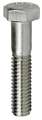 Dottie Co L.h. MBS5162 L.H. Dottie MBS5162 Cap Screw, 18-8 Stainless Steel material, Hex head type, 2 in. length, 5/16 x 2 in. Size, 5/16-18 in. thread size, 1/2 in. head width
