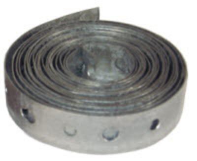 Dottie Co L.h. PT22 L.H. Dottie PT22 Plumper's Strap Tape; 10 ft Length x 3/4 Inch Width x 22 Gauge Thickness, Steel, Galvanized