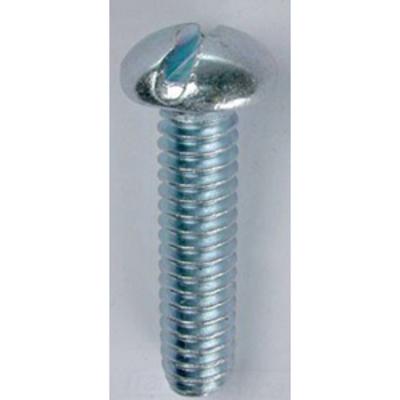 Dottie Co L.h. RMS1412 L.H. Dottie RMS1412 Invincibox™ Slotted Round Head Machine Screw; 1/4-20, 1/2 Inch Length