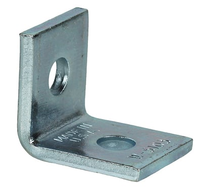 Dottie Co L.h. SAF290 L.H. Dottie SAF290 90 Degree 2-Hole Angle Fitting; 1-7/8 Inch Length x 1-5/8 Inch Width x 2 Inch Height, Steel