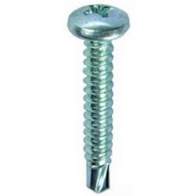 Dottie Co L.h. TEKPH634 L.H. Dottie TEKPH634 PC 4220 Phillips Pan Head Self Drilling Screw; #6, 3/4 Inch Length, Steel, Zinc-Plated