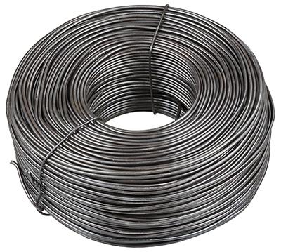 Dottie Co L.h. TY164 L.H. Dottie TY164 Steel Black Annealed Tire Wire, 400 ft. length, 16-1/2 GA wire gauge