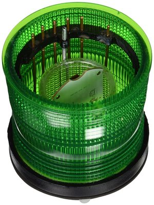 Edwards 101XBRMG120A Edwards 101XBRMG120A LED Stack Light, 120 VAC, 0.108 A, Green