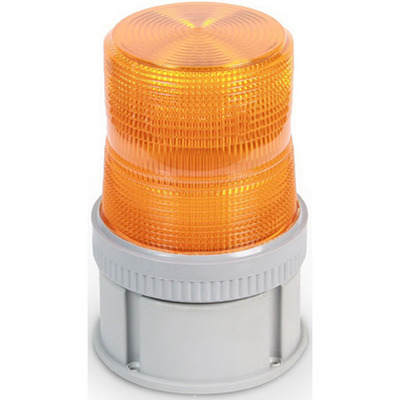 Edwards 105STA-G1 Edwards 105STA-G1 AdaptaBeacon® 3 Joule Xenon Strobe Module; 24 Volt DC, 0.3 Amp, 4-1/2 Inch Width x 4-5/8 Inch Height, Gray Rynite® (PET) Base, Polycarbonate Lens, Amber Lens, 65 Flashes per min