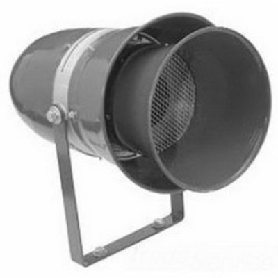 Edwards 315A-AH Edwards 315A-AH Heavy Duty Motor Driven Industrial Siren; 120 Volt AC/DC, 2.5 Amp, Surface Mount, 110 DB at 10 ft