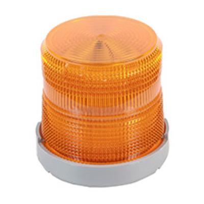 Edwards 48XBRMA120A Edwards 48XBRMA120A XTRA-BRITE™ Dual-Mode LED Beacon Light; 120 Volt AC, 0.108 Amp, Amber, 1/2 Inch Conduit Mount