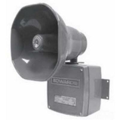 Edwards 5530M-24N5 Edwards 5530M-24N5 5530M Series Adaptatone Millennium Multiple Tone Signal; 120 Volt AC/24 Volt DC, 110 DB At 10 ft, Gray