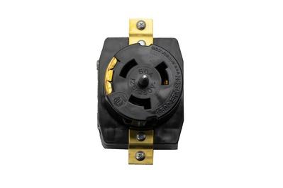 Ericson Power & Lighting Safet CS6369 Ericson CS6369 California-Style Locking Receptacle; 125/250 Volt, 50 Amp, 3-Pole, 4-Wire