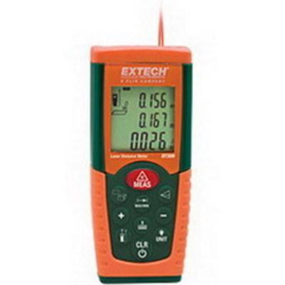 Extech DT300 FLIR (Extech) DT300 Laser Distance Meter; 2 - 164 ft, (2) AAA Battery, +/-0.060 Inch Accuracy