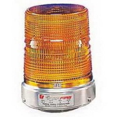 Federal Signal 131ST-120A Federal Signal 131ST-120A Starfire® Strobe Warning Light; 120 Volt AC, 0.60 Amp, Amber, 1/2 Inch NPT Pipe Mount