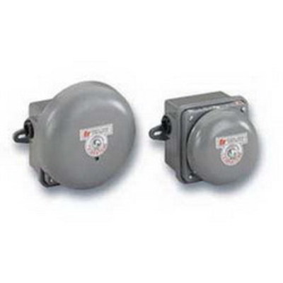 Federal Signal 504-120-1 Federal Signal 504-120-1 Vibrating Bell; 120 Volt AC, 98 DB At 10 ft, Gray