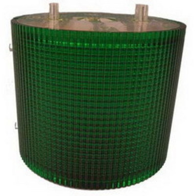 Federal Signal LSL-120G Federal Signal LSL-120G Litestak® LSL Series Flashing Steady Incandescent Status Indicator Light; 120 Volt AC, 0.13 Amp, 2 Inch Surface Mount, Polycarbonate Lens, Green