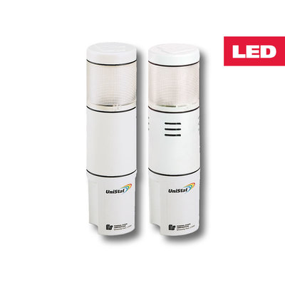 Federal Signal USI-120TC Federal Signal USI-120TC UniStat® USI Series Flashing Stack Light; 120 Volt AC, 0.06 Amp, Clear