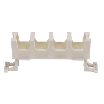 Hubbell Premise Wiring 110TRA Hubbell Premise 110TRA Cable Management Jumper Trough With Leg; Polycarbonate