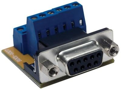 Hubbell Premise Wiring 9ST10 Hubbell Premise 9ST10 eurofast® D-Sub AV Connector; 9-Pin, Blue/Black