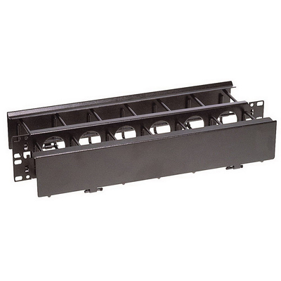 Hubbell Premise Wiring HC219CR3N Hubbell Wiring HC219CR3N Nextframe® Duct Panel; 2U Rack, 3.500 Inch Front Ring Width x 4.600 Inch Rear Ring Width x 3.500 Inch Height, 16 Gauge Cold Rolled Steel, Black Powder Coated